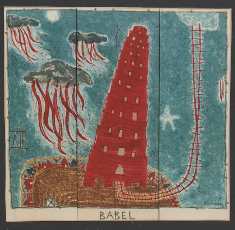 Babel (120x90cm)