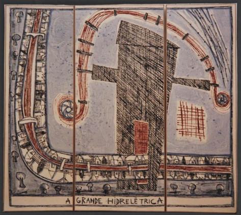 A Grande Hidreletrica (152x132  cm)