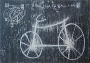 Diptyque Byciclette  100x140 cm