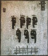 Les passants (110 x130 cm)