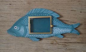 Petit cadre vitrine poisson