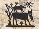 Loups ( 23 x 19 cm)