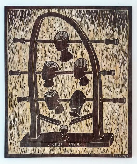 Oeuf Story (100x120 cm)