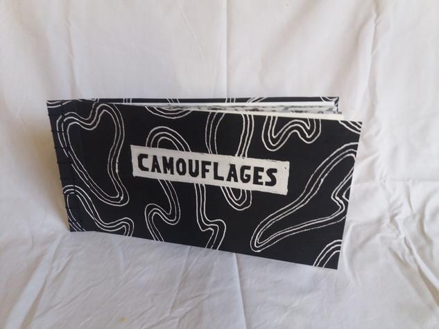 Livre Camouflages ( 33 x 17 cm )