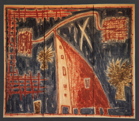 Girouette (155 x 130 cm)