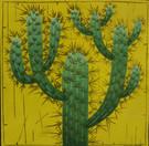 Cactus jaune citron (30X35CM)