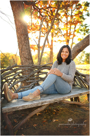 Pine Plains Senior Photographer | Rebekah's Columbus Day Session