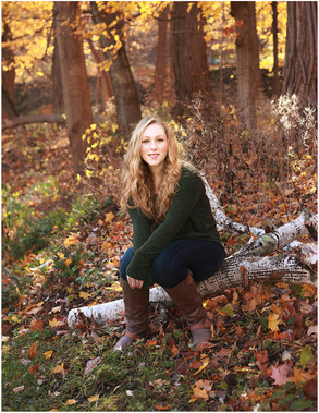 Hudson Valley Senior Photographer | Anna's Perfect Fall Session