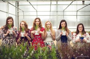 Hudson Valley Senior Photographer | Mod Squad shoot at Samascott's Garden Market