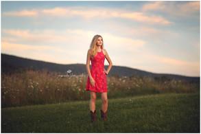 Hudson Valley Senior Photographer | Megan's Country Summer Session