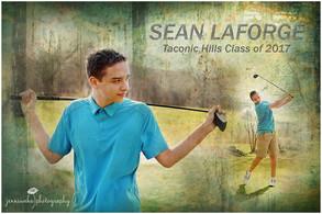 Hillsdale, NY Senior Photographer | Sean at Undermountain Golf Course