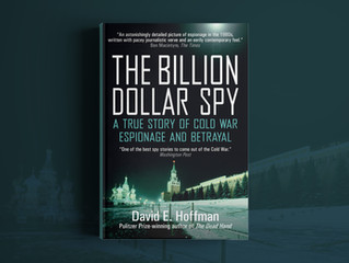The Billion Dollar Spy. New Artwork
