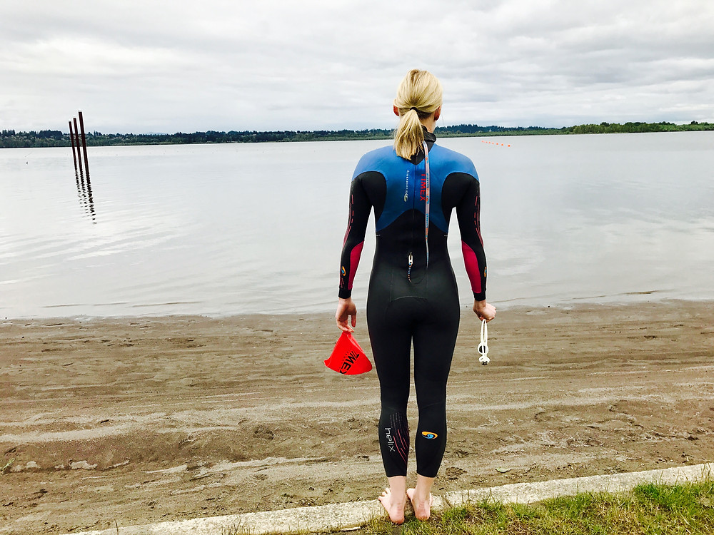 Shannon Coates open water swimming
