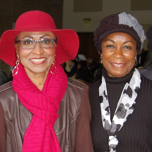 Trudy Payne and Zeola Lawson