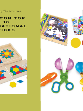 My Top 10 Educational Amazon Toys Under $20