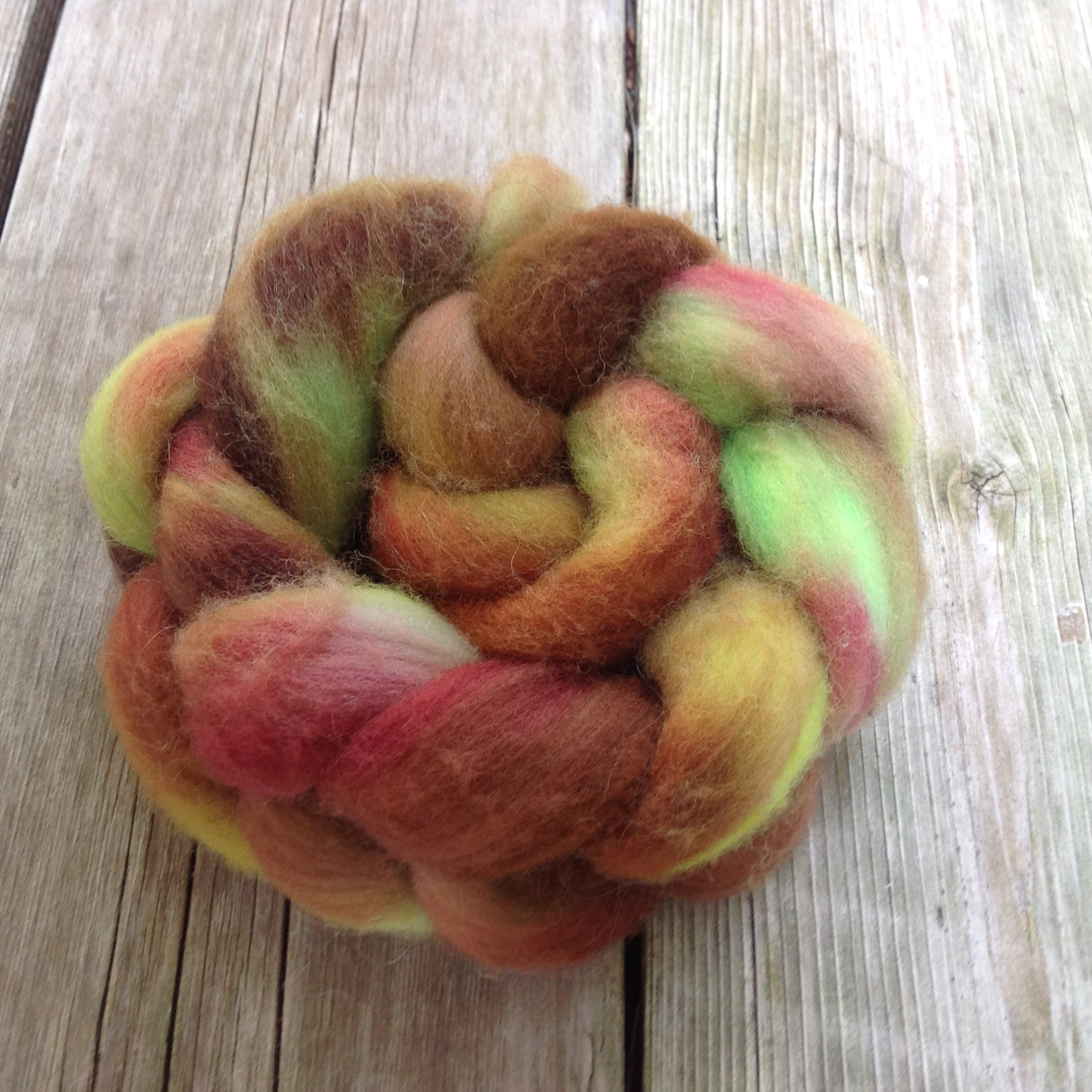 2 oz. Hand-painted Roving $8.50