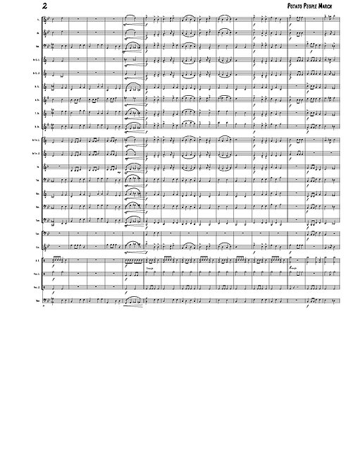Beginner Concert Band - Potato People March