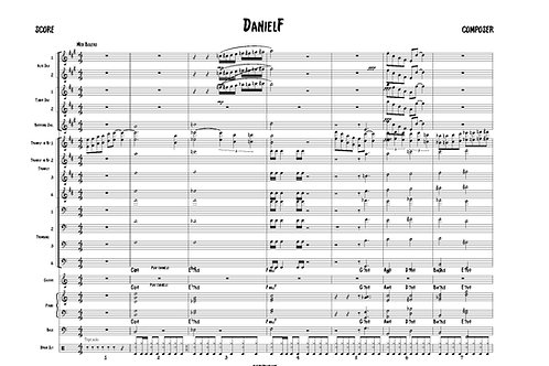 Jazz Ensemble - DANIEL F - LEAD TRUMPET SOLO
