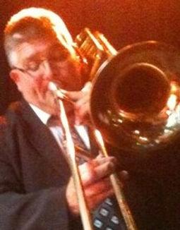 Trombonist Rod Herbert jazzing up festival. rodherbertbigsoundmusic.com