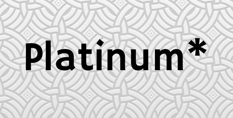 Platinum Page Ad*