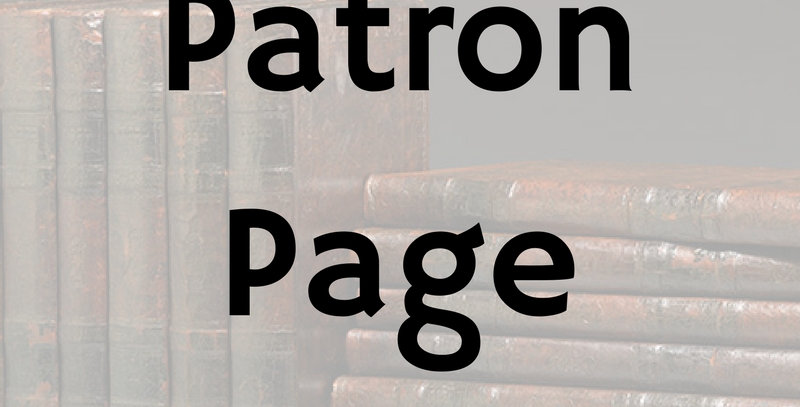 Patron Page Ad