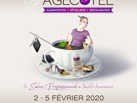 Save the date ! #SolutionsParfum sur le salon #Agecotel du 2 au 5 février 2020 !