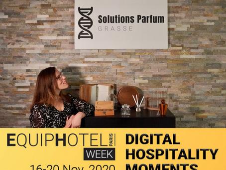 Solutions Parfum sur #EquipHotelWeek #Paris du 16 au 20 Novembre 2020