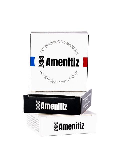 AMENITIZ® 3 EN 1 Gel douche +Shampooing + Après-Shampooing