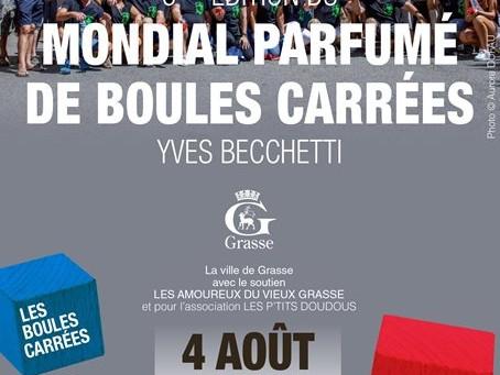 LE MONDIAL PARFUME DE BOULES CARREES