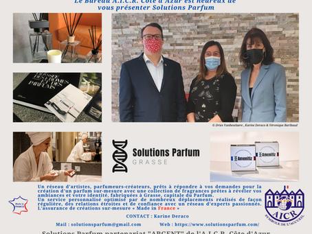 Solutions Parfum devient partenaire de l' #AICR Côte d'Azur