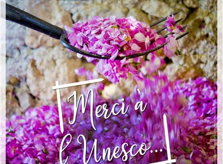 Les Parfums de Grasse classés à l'UNESCO !!