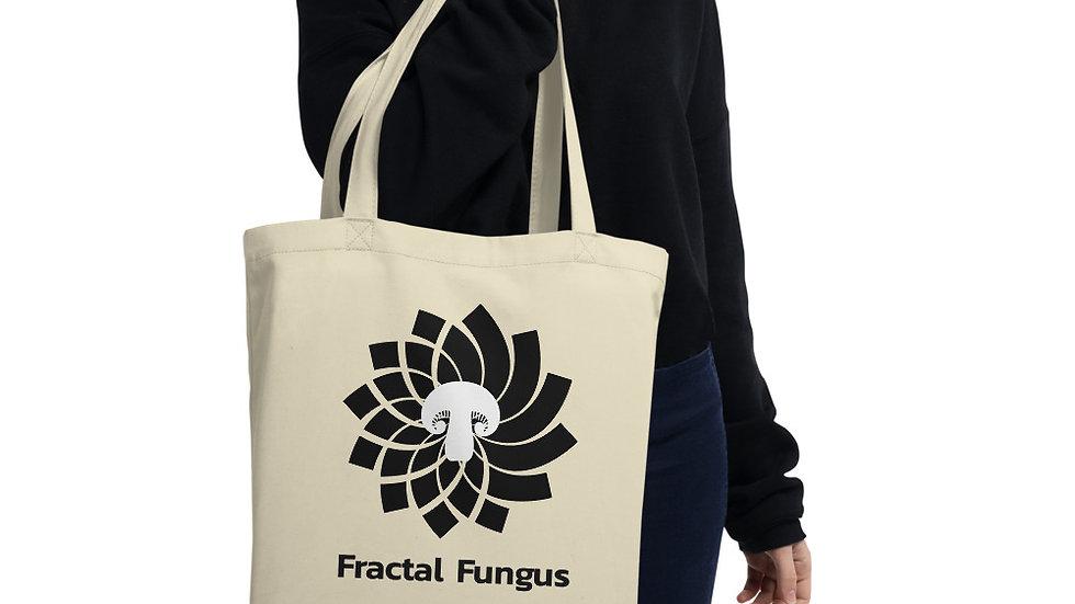 Fractal Fungus Logo Eco Tote Bag