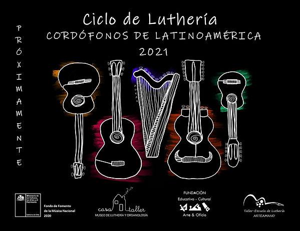 AFICHE PRUEBA Ciclo Cordófonos de Latino