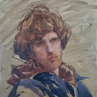 "11""x14"" Oil on Canvas"