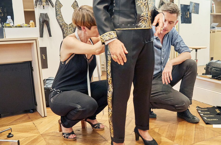 The suiting up with Guillaume Henry