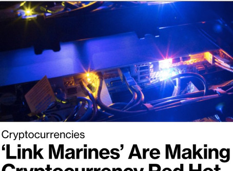 'Link Marines' Are Making an Obscure Cryptocurrency Red Hot