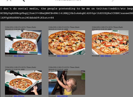 Feiert mit uns den internationalen Pizza day! Pizza 10.000 BTC x 10.000 €
