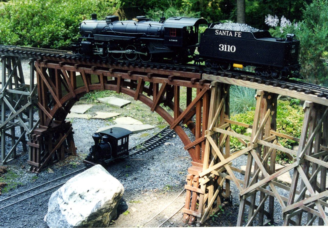 """-Garden Texture 33"""" ArchDeck Bridge"""