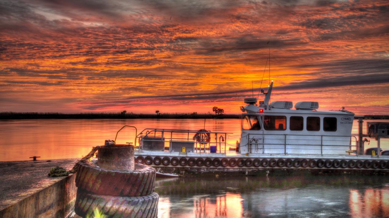 Sunrise Launch - Apalachicola