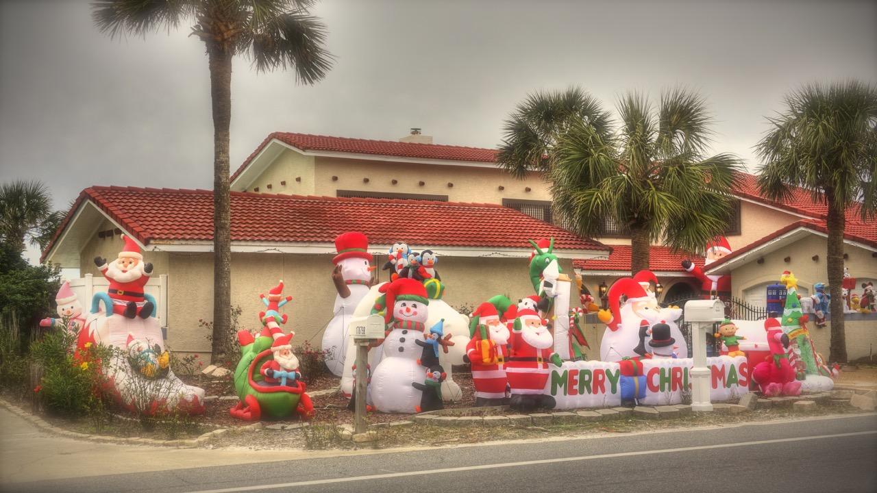 """""""Inflated Christmas"""""""