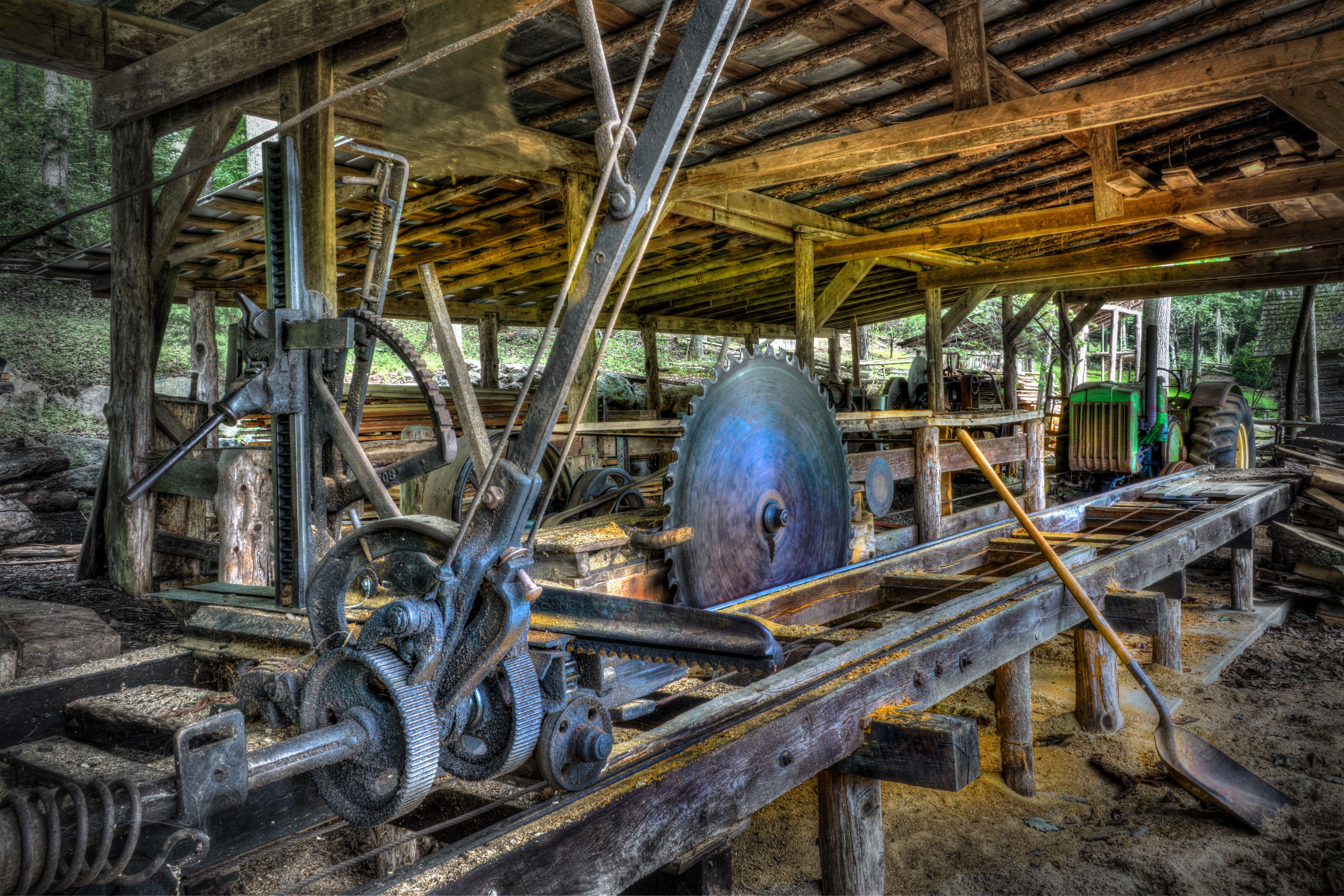Appalachian Backwoods Sawmill