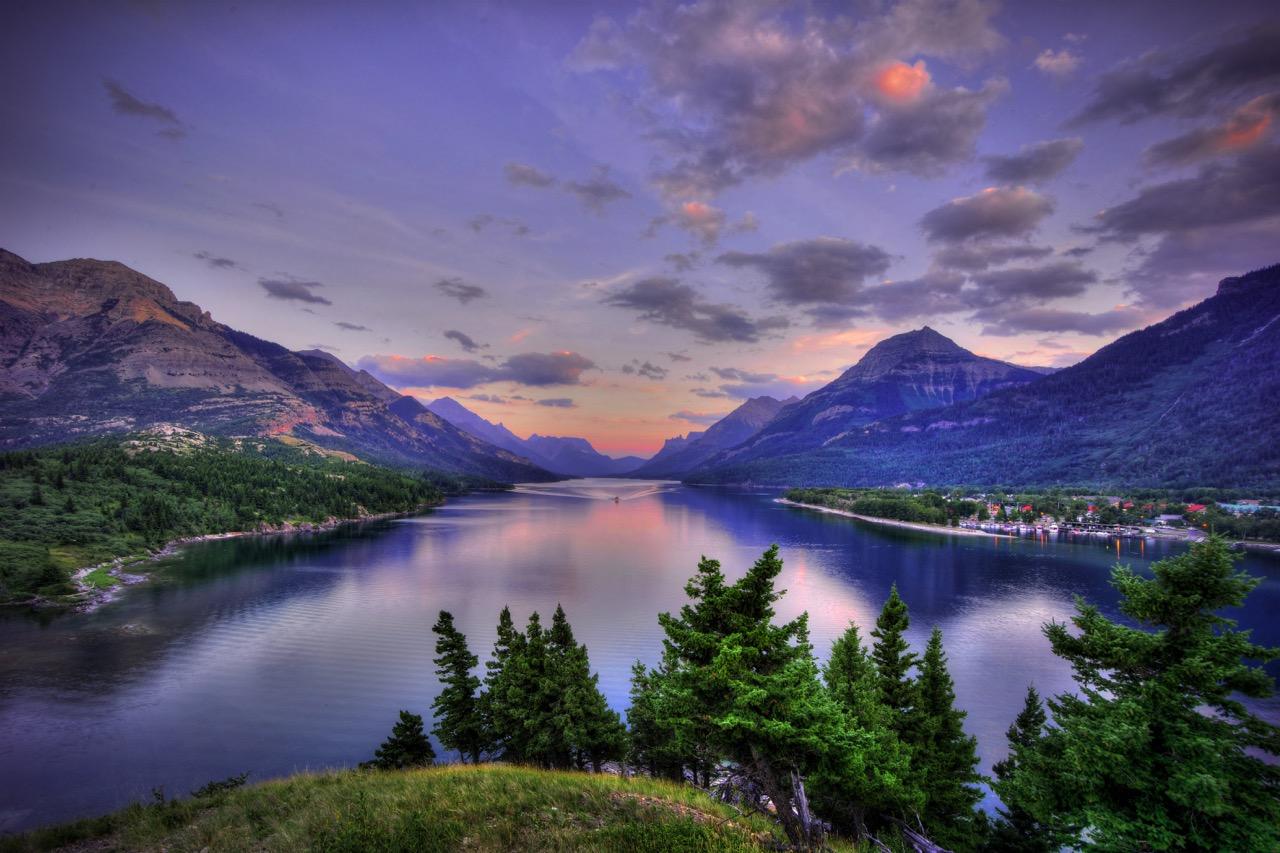 Waterton Lake Sunrise