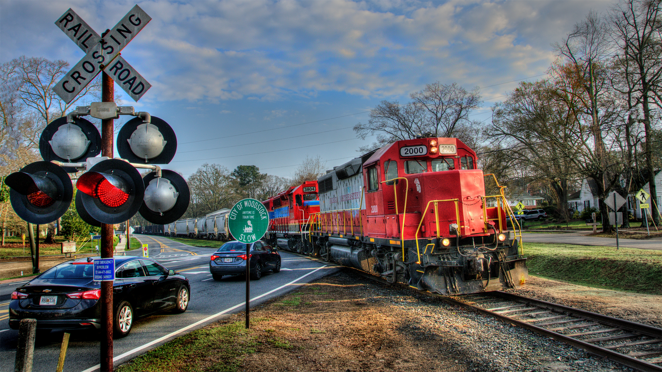 GNRR 2000 Thru Woodstock, GA
