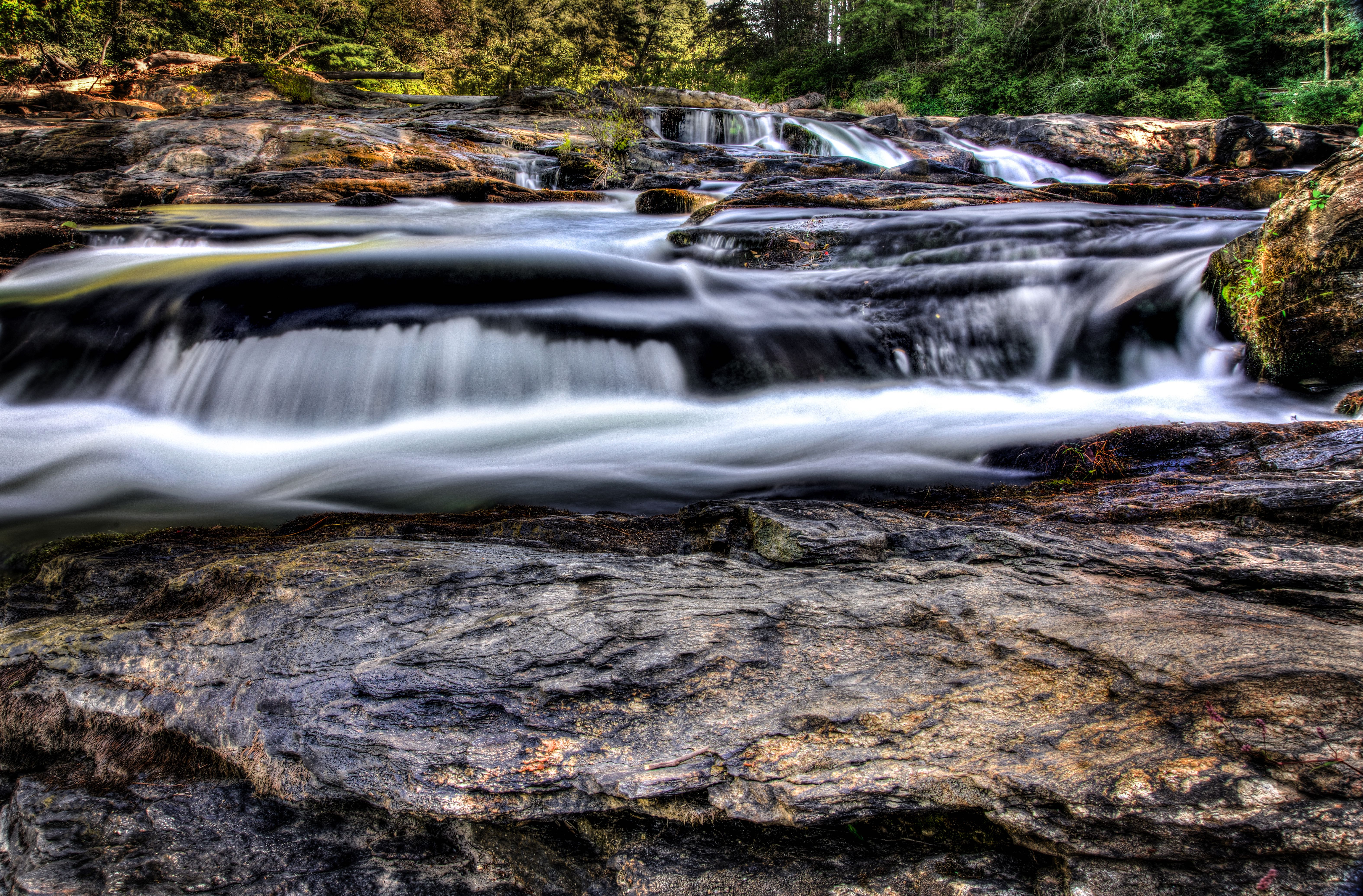 Amicalola River Trail Falls