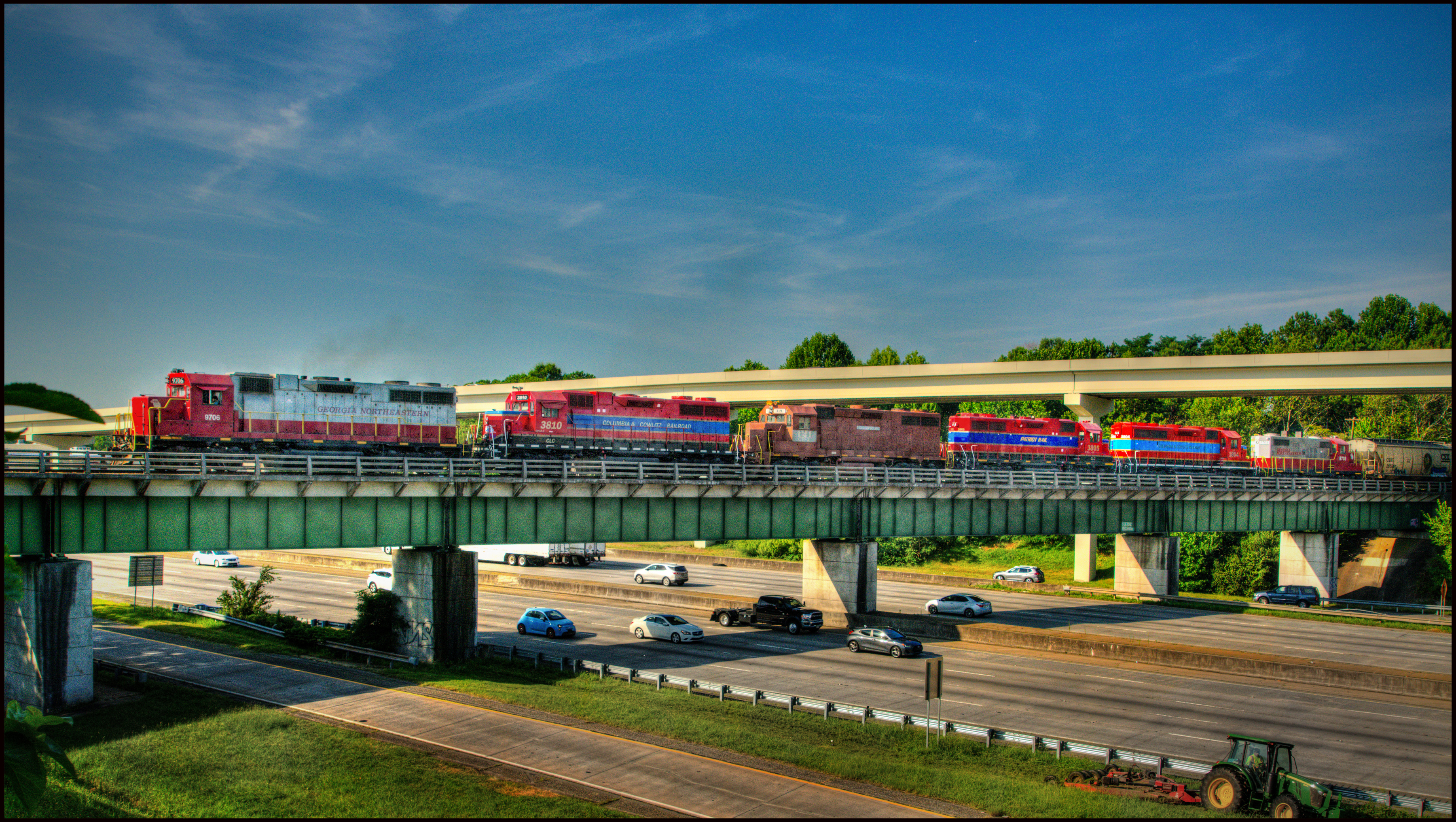 Six Locos Over I-75