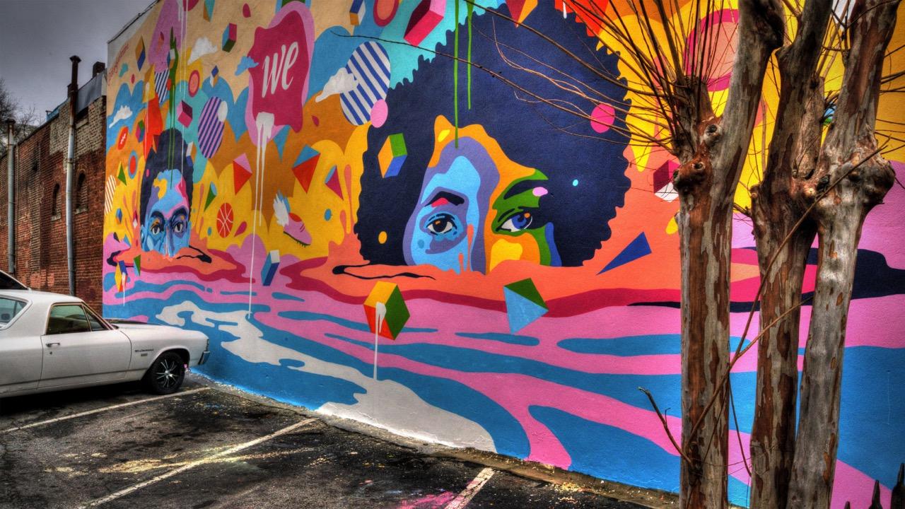Off The Wall Atlanta Graffiti
