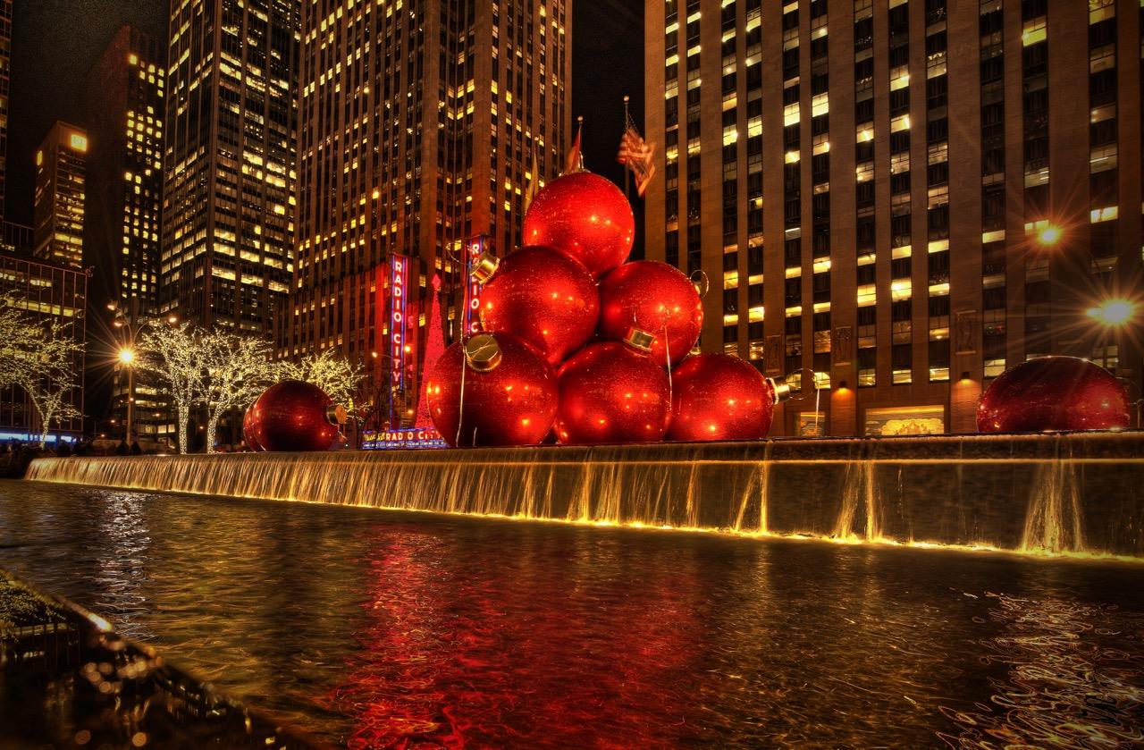 Holiday Fountain - New York City