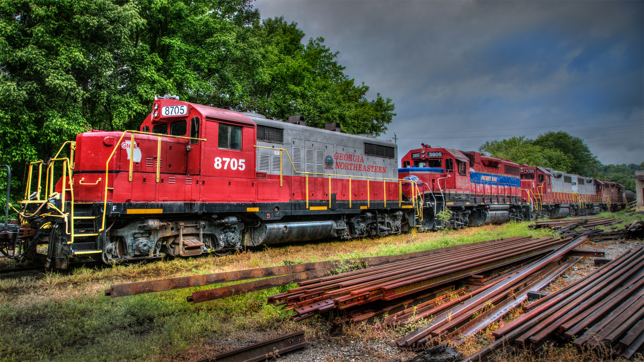 Five Locos In Canton