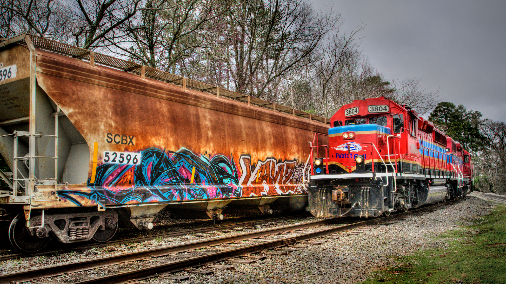 GA Northeastern RR - Graffiti