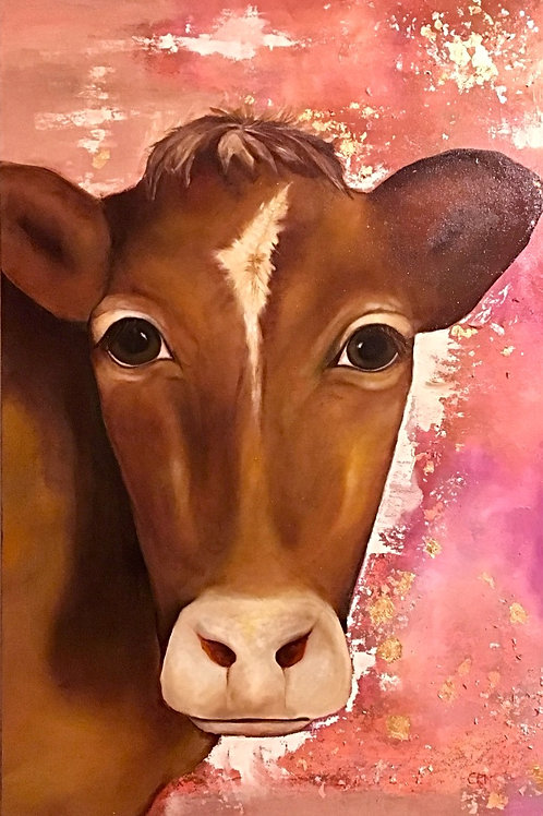 PINK WAS HER FAVORITE COLOR 24X36